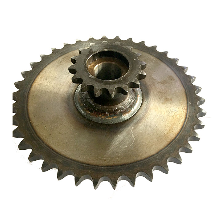 Welding sprocket